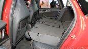 Audi RS6 Avant rear seats folded India launch