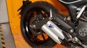 Ducati Scrambler Full Throttle exhaust India