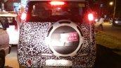 Mahindra Canto Mahindra Quanto facelift rear spied