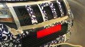 Mahindra U301 grille new spyshots