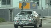 Mercedes C-Class Coupe rear quarter with production-spec body spotted