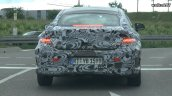 Mercedes C-Class Coupe rear with taillamps with production-spec body spotted