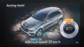 Mercedes GLC exposed by the COMAND display