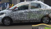 Tata Kite compact sedan side spied