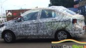Tata Kite compact sedan wheels spied