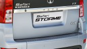 Tata Safari Storme facelift boot