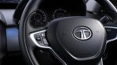 Tata Safari Storme facelift steering wheel