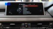 2015 BMW X6 iDrive India
