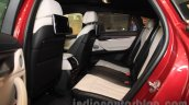 2015 BMW X6 rear seats India