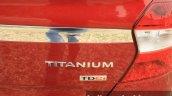 2015 Ford Figo Aspire Titanium 1.5 Diesel Titanium badging first drive review