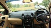 2015 Ford Figo Aspire Titanium 1.5 Diesel dashboard first drive review