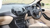 2015 Ford Figo Aspire Titanium 1.5 Diesel driver area first drive review