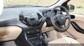 2015 Ford Figo Aspire Titanium 1.5 Diesel driver area first drive review