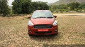 2015 Ford Figo Aspire Titanium 1.5 Diesel front (1) first drive review