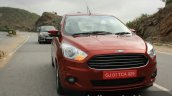 2015 Ford Figo Aspire Titanium 1.5 Diesel front dynamic first drive review