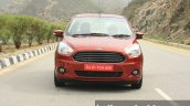 2015 Ford Figo Aspire Titanium 1.5 Diesel front first drive review