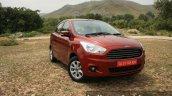 2015 Ford Figo Aspire Titanium 1.5 Diesel front quarter (1) first drive review
