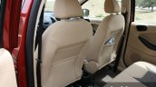 2015 Ford Figo Aspire Titanium 1.5 Diesel front seat map pockets first drive review