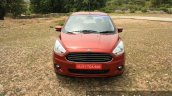 2015 Ford Figo Aspire Titanium 1.5 Diesel front top first drive review