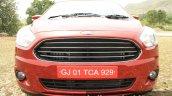 2015 Ford Figo Aspire Titanium 1.5 Diesel grille first drive review
