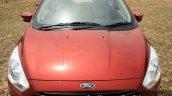 2015 Ford Figo Aspire Titanium 1.5 Diesel hood first drive review