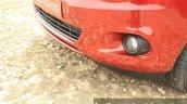 2015 Ford Figo Aspire Titanium 1.5 Diesel lower fascia first drive review