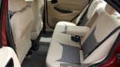 2015 Ford Figo Aspire Titanium 1.5 Diesel rear seat with armrest down first drive review