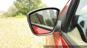 2015 Ford Figo Aspire Titanium 1.5 Diesel side view mirror (1) first drive review