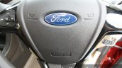 2015 Ford Figo Aspire Titanium 1.5 Diesel steering airbag first drive review