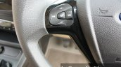 2015 Ford Figo Aspire Titanium 1.5 Diesel steering mounted buttons first drive review