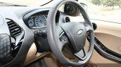 2015 Ford Figo Aspire Titanium 1.5 Diesel steering wheel side first drive review