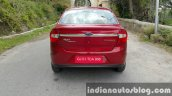 2015 Ford Figo Aspire Titanium Plus Petrol rear first drive review