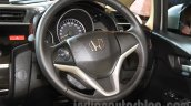 2015 Honda Jazz steering India launch