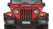 2015 Mahindra Thar facelift front press shots