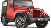 2015 Mahindra Thar facelift front quarters press shots
