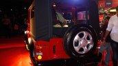 2015 Mahindra Thar facelift rear