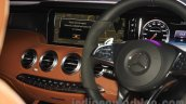 2015 Mercedes AMG S 63 Coupe center console launched in Delhi