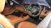 2015 Mercedes AMG S 63 Coupe dashboard launched in Delhi