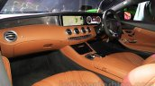 2015 Mercedes AMG S 63 Coupe front cabin launched in Delhi