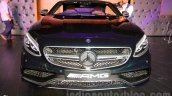 2015 Mercedes AMG S 63 Coupe front launched in Delhi