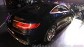 2015 Mercedes AMG S 63 Coupe rear quarter launched in Delhi