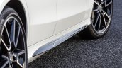 2015 Mercedes C Class side sill extensions get optional AMG accessories