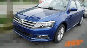 2015 Volkswagen Gran Lavida facelift front three quarter revealed in images