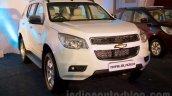 2016 Chevrolet Trailblazer front quarter unveiled in Delhi
