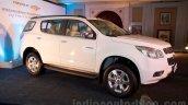 2016 Chevrolet Trailblazer front three quarter unveiled in Delhi