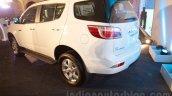 2016 Chevrolet Trailblazer rear three quarter unveiled in Delhi