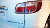 2016 Chevrolet Trailblazer taillamp unveiled in Delhi