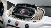 2016 Fiat 500 (facelift) Uconnect infotainment display unveiled