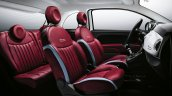 2016 Fiat 500 (facelift) interior unveiled
