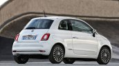 2016 Fiat 500 (facelift) rear three quarter unveiled